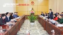 Nghệ An chuẩn bị các điều kiện tốt nhất để đón đoàn công tác cấp cao nước bạn Lào