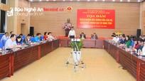 Đề cao vai trò nêu gương của người đứng đầu cấp ủy, lãnh đạo các cơ quan cấp tỉnh Nghệ An