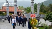 Ngành Giao thông vận tải Nghệ An dâng hương tưởng niệm các anh hùng liệt sỹ
