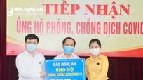 Ủy ban Mặt trận Tổ quốc Việt Nam tỉnh gửi thư cảm ơn Báo Nghệ An