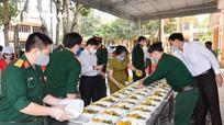 Đồng chí Nguyễn Văn Thông thăm, kiểm tra khu cách ly tại huyện Diễn Châu, Quỳ Hợp