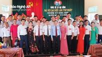 Đại hội Đảng bộ xã Đại Đồng, huyện Thanh Chương nhiệm kỳ 2020 - 2025