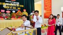 Đại hội Đảng bộ xã Nam Giang (Nam Đàn) nhiệm kỳ 2020-2025