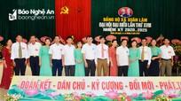 Đại hội đại biểu Đảng bộ xã Xuân Lâm, Nam Đàn nhiệm kỳ 2020 - 2025  
