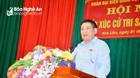Tổng Kiểm toán Nhà nước Hồ Đức Phớc tiếp xúc cử tri tại Kim Liên (Nam Đàn)