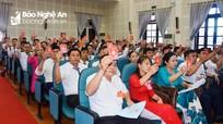 Khai mạc phiên trù bị Đại hội đại biểu Đảng bộ huyện Diễn Châu nhiệm kỳ 2020 - 2025