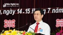 Đồng chí Nguyễn Xuân Sơn lưu ý 5 nhiệm vụ trọng tâm trong nhiệm kỳ 2020-2025 với huyện Diễn Châu