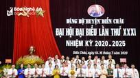 Danh sách Ban Chấp hành Đảng bộ, Ban Thường vụ Huyện ủy Diễn Châu nhiệm kỳ 2020-2025