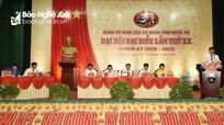Hoàn thành chương trình Đại hội đại biểu Đảng bộ Khối CCQ tỉnh Nghệ An, nhiệm kỳ 2020-2025