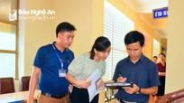 Tỉnh Nghệ An kiểm tra đột xuất việc chấp hành kỷ cương hành chính ở các cơ quan, đơn vị