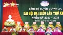 [Infographics] Các chỉ tiêu chủ yếu của Đảng bộ huyện Quỳnh Lưu nhiệm kỳ 2020 - 2025