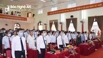 Phiên chính thức Đại hội đại biểu Đảng bộ huyện Quế Phong lần thứ XXII, nhiệm kỳ 2020 - 2025