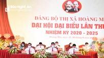 Đại hội Đảng bộ thị xã Hoàng Mai lần thứ II, nhiệm kỳ 2020 - 2025 khai mạc phiên chính thức