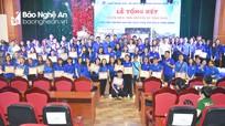 Đoàn trường Đại học Vinh tổng kết chiến dịch tình nguyện hè năm 2020