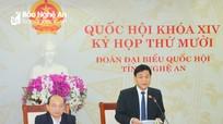 Đoàn đại biểu Quốc hội tỉnh Nghệ An thảo luận, góp ý Dự thảo Luật Cư trú (sửa đổi)