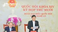 Đoàn đại biểu Quốc hội Nghệ An đề xuất giải pháp đấu tranh phòng chống các loại tội phạm mới