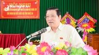 Bí thư Trung ương Đảng Phan Đình Trạc: Phải hỗ trợ, tạo thuận lợi cho bà con cấp đổi giấy chứng nhận quyền sử dụng đất
