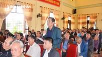 Cử tri huyện Quỳnh Lưu đề xuất chính sách hỗ trợ xây dựng nông thôn mới nâng cao, kiểu mẫu