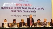 Tỉnh Nghệ An tham dự Hội thảo Ngoại giao Kinh tế tại Hà Nội