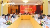 Trung ương Hội Nông dân giao ban công tác Cụm thi đua số 2 tại Nghệ An