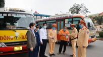 Nghệ An kiểm tra hoạt động vận tải khách tết Tân Sửu năm 2021