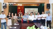 Phối hơp tuyên truyền về tổ chức hội và phong trào nông dân Nghệ An