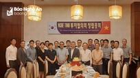 Thành lập Hiệp hội đầu tư Hàn Quốc tại Nghệ An và Hà Tĩnh