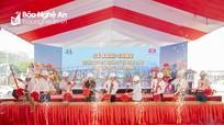 Chính thức khởi công xây dựng chợ Kim Sơn hơn 100 tỷ ở Quế Phong