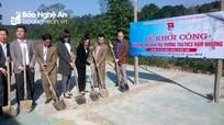 Khởi công nhà ở bán trú cho học sinh Nậm Nhoóng