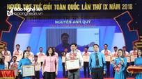 """Chàng trai Nghệ An được tuyên dương """"Thợ trẻ giỏi toàn quốc"""""""