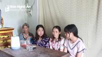 Nữ sinh đạt 9,5 môn Văn ở huyện miền núi có hoàn cảnh hết sức khó khăn