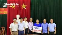 Hỗ trợ 500 triệu đồng cho người dân Tương Dương, Con Cuông bị thiệt hại do mưa lũ