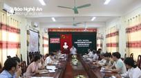 Tân Kỳ: Sáp nhập Hội Bảo trợ người khuyết tật và trẻ mồ côi vào Hội Chữ thập đỏ