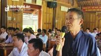 Cử tri Quỳ Hợp: Đề xuất giải quyết chính sách hỗ trợ người giữ rừng