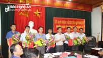 Quỳnh Lưu: Bổ nhiệm Chánh Văn phòng Huyện ủy và Trưởng Phòng Nội vụ UBND huyện