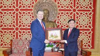 Đại sứ Hoa Kỳ cam kết sẽ kết nối thúc đẩy đầu tư vào Nghệ An