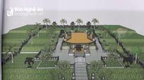 Khởi công công trình tôn tạo Khu lăng mộ đồng chí Trương Vân Lĩnh
