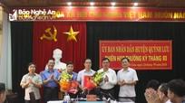 Quỳnh Lưu công bố quyết định bổ nhiệm cán bộ