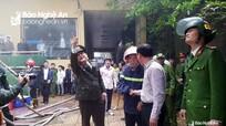 Nghệ An có gần 5.000 cơ sở nguy hiểm về cháy, nổ