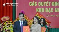 Công bố quyết định bổ nhiệm Giám đốc Kho bạc Nhà nước Nghệ An