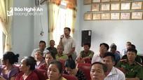 Đại biểu Hội đồng nhân dân tỉnh tiếp xúc cử tri tại các địa phương