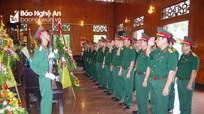 Bộ Chỉ huy quân sự tỉnh dâng hương tại Khu di tích Kim Liên nhân ngày Quốc khánh