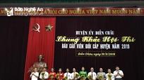9 thí sinh dự chung khảo hội thi Báo cáo viên giỏi huyện Diễn Châu