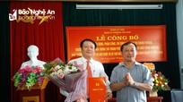 Bí thư Thành ủy Vinh trao quyết định chỉ định Bí thư Đảng ủy phường Cửa Nam