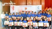 Nghệ An tuyên dương 23 học sinh đạt danh hiệu 3 tốt, 3 rèn luyện năm học 2018 - 2019