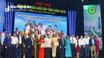 Công an tỉnh giành giải Nhất Hội thi Báo cáo viên giỏi Nghệ An năm 2019
