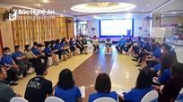 Hội đồng Đội Trung ương và UNICEF tập huấn cho cán bộ đoàn chủ chốt của Nghệ An