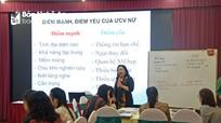 Tập huấn kỹ năng vận động bầu cử cho nữ ứng cử viên đại biểu Quốc hội, HĐND