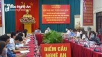 Ngành Nội chính quán triệt Nghị quyết Đại hội XIII và phát động thi đua chuyên đề