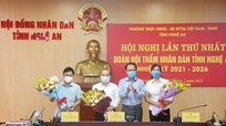 Bầu Trưởng đoàn, Phó trưởng Đoàn Hội thẩm nhân dân tỉnh Nghệ An nhiệm kỳ 2021 - 2026